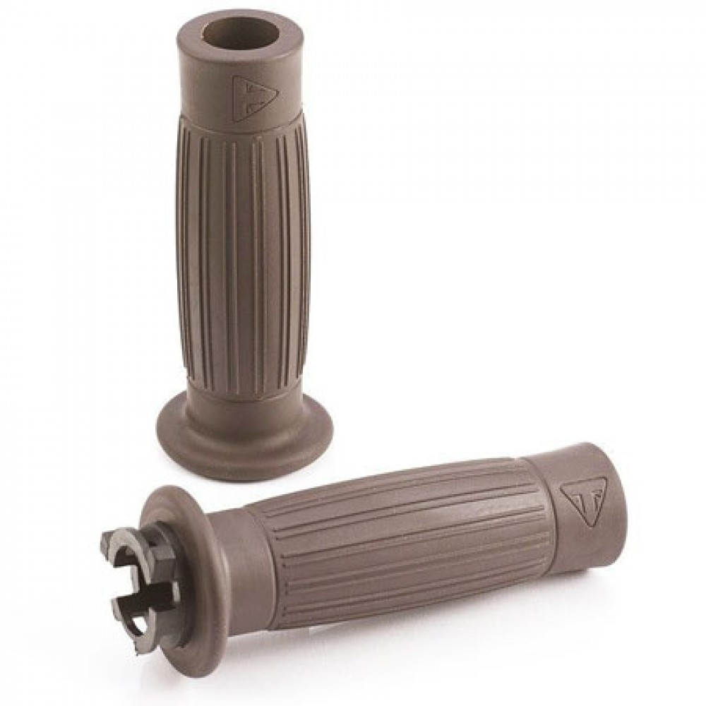 BARRELL GRIPS 22MM (BROWN) - TRIUMPH MOTORCYCLE