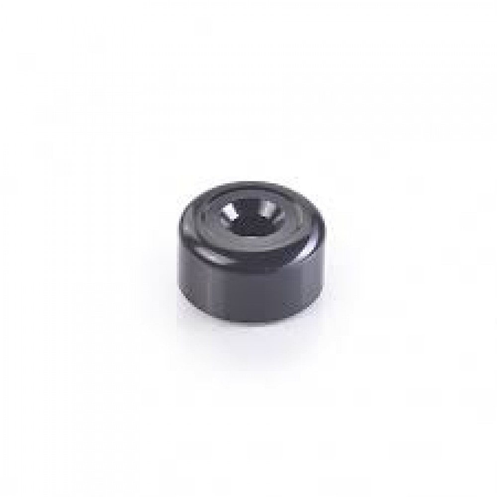 BAR END FINISHER, BLACK - TRIUMPH MOTORCYCLE
