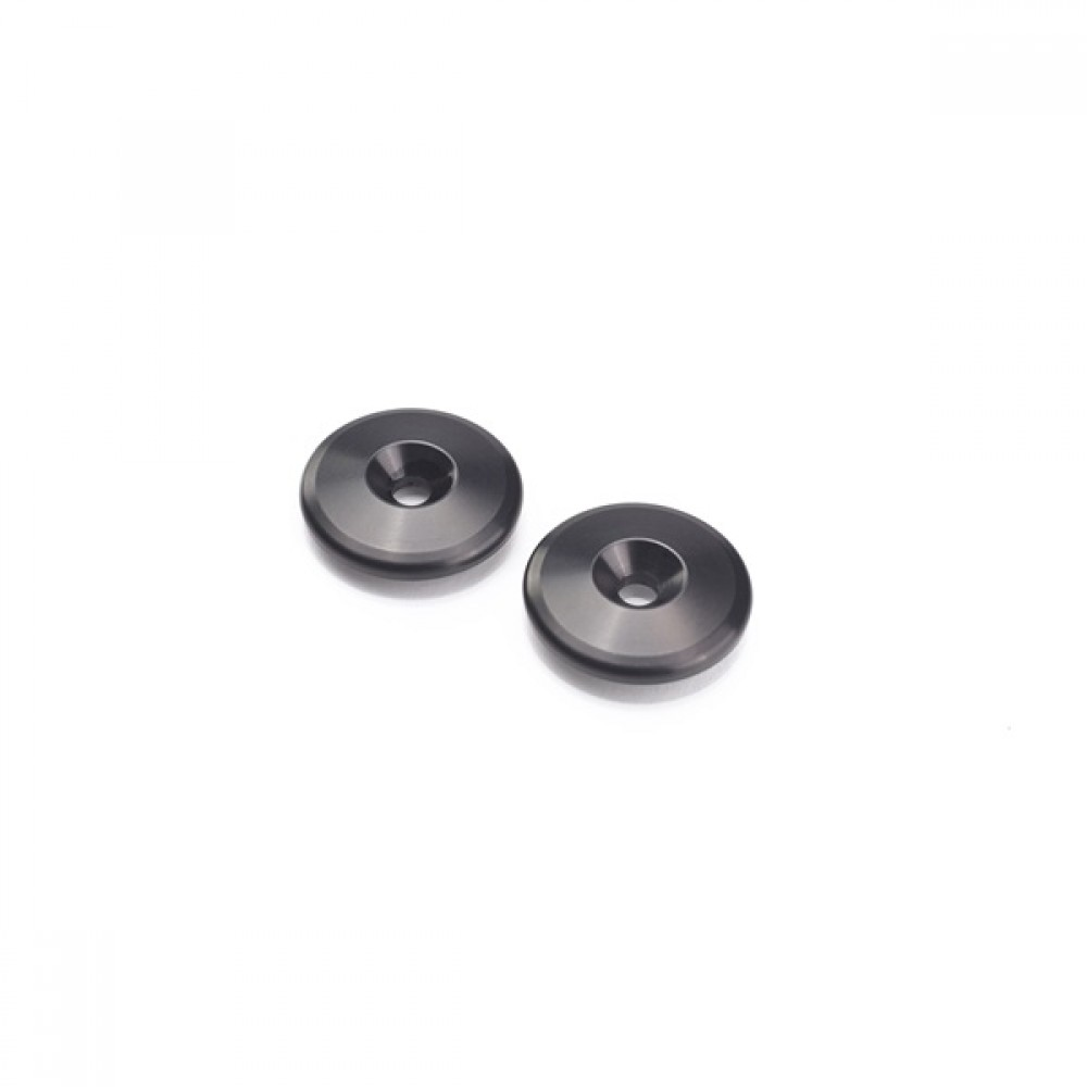 BAR END FINISHERS, BLACK - TRIUMPH MOTORCYCLE