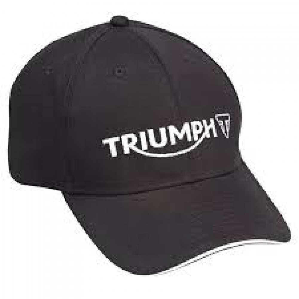 Triumph Genuine Merchandise TRIUMPH LOGO CAP BLACK