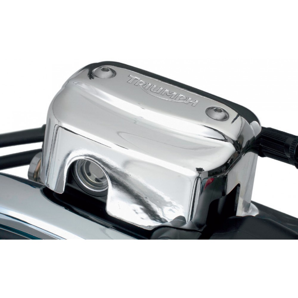 MASTER CYLINDER COVER (CHROME) -  TRIUMPH MOTORCYCLE