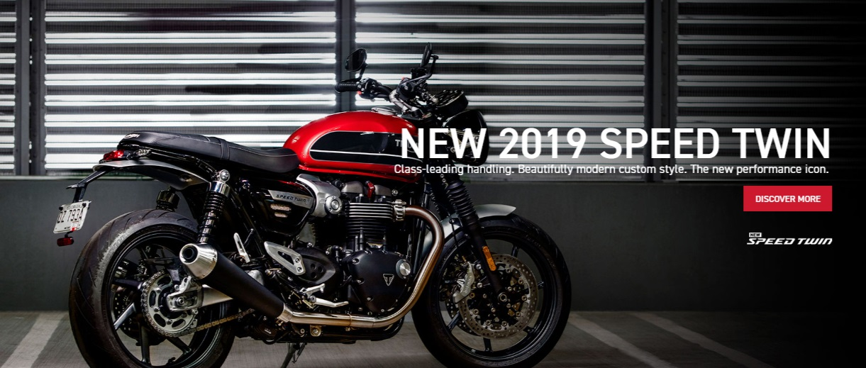 NEW 2019 SPEED TWIN