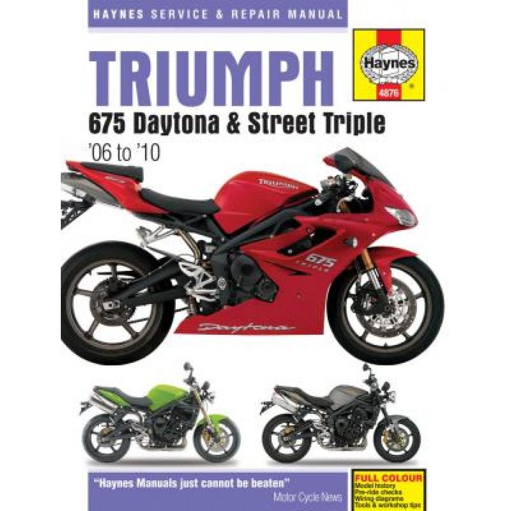 WORKSHOP MANUAL - DAYTONA 675 & STREET TRIPLE 2007-2012