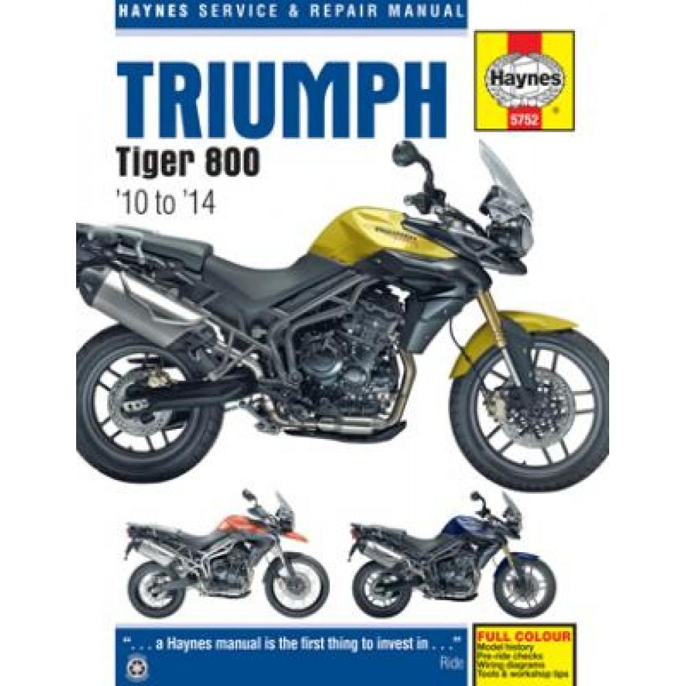 WORKSHOP MANUAL - TIGER 800 2010-2014