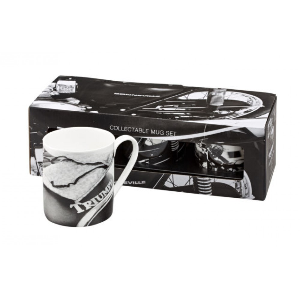 TRIUMPH COLLECTABLE  60S MUG 3 PACK