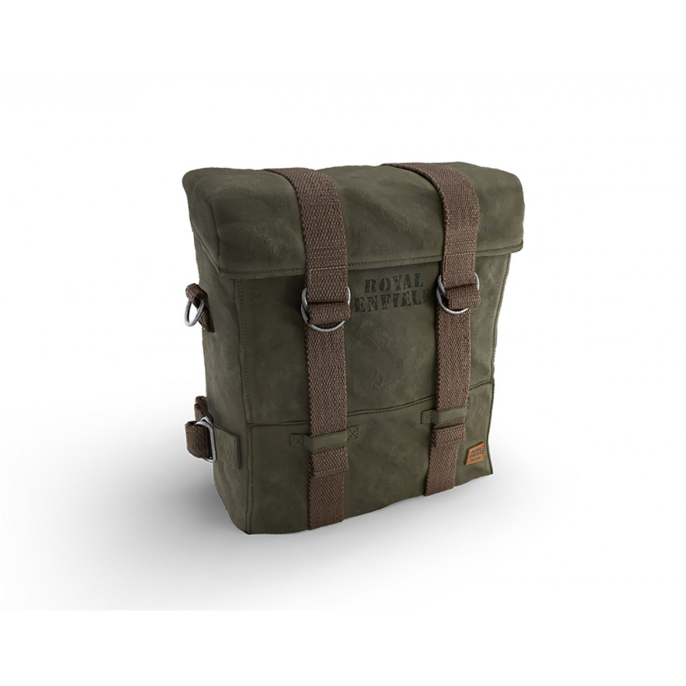 Royal Enfield Military Pannier, Rh, Olive - Classic 350 & 500