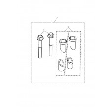EXPEDITION PANNIERS EXPANDING CLAMP KIT - TIGER 800 2011-2020