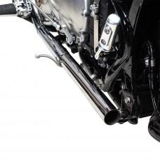 Straight Pipe Performance Tips Polished - BOBBER & SPEEDMASTER