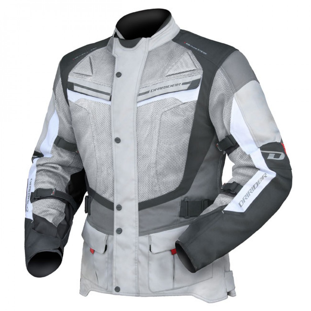APEX 4 AIR FLOW JACKET GREY/WHITE/BLACK