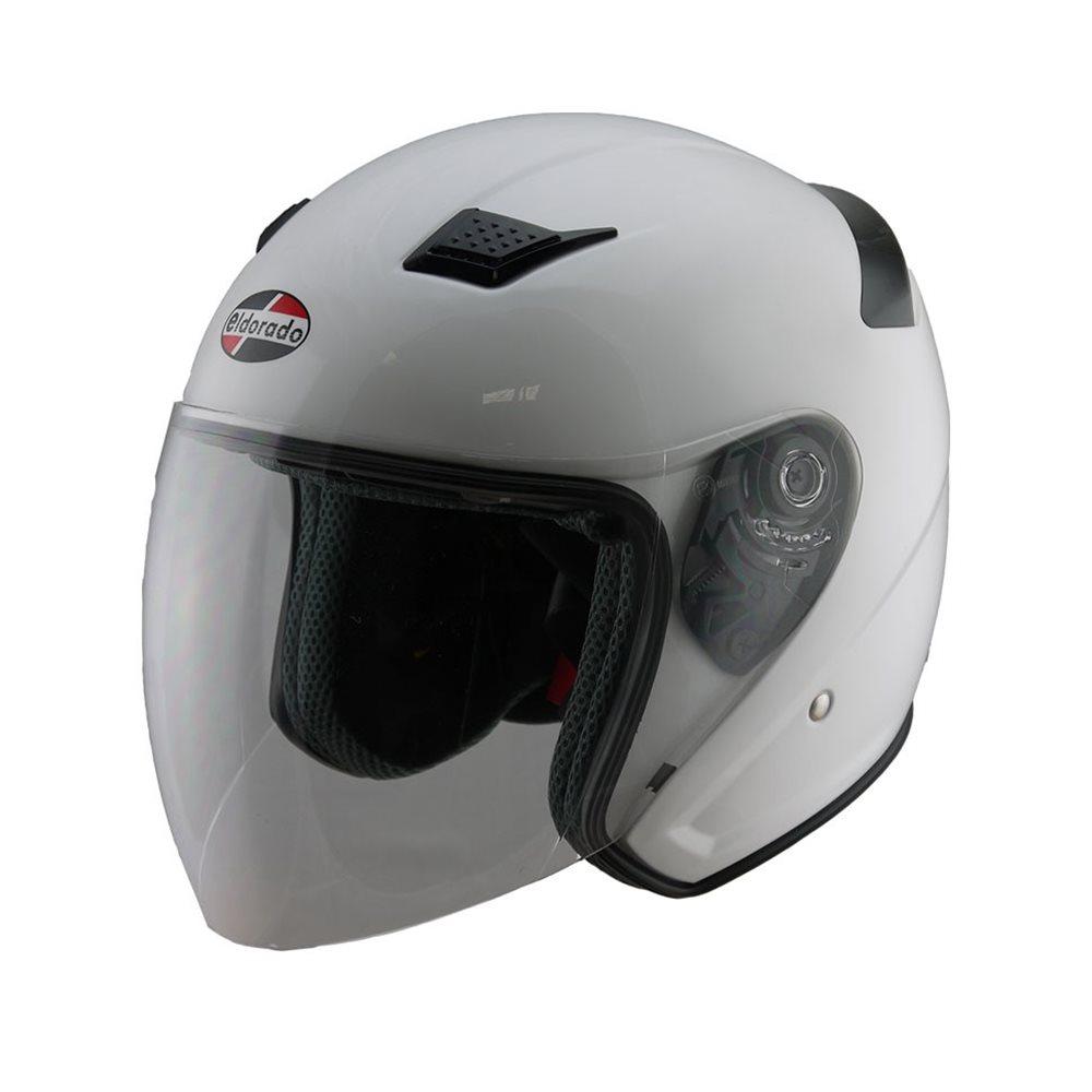 E10 HELMET - GLOSS WHITE