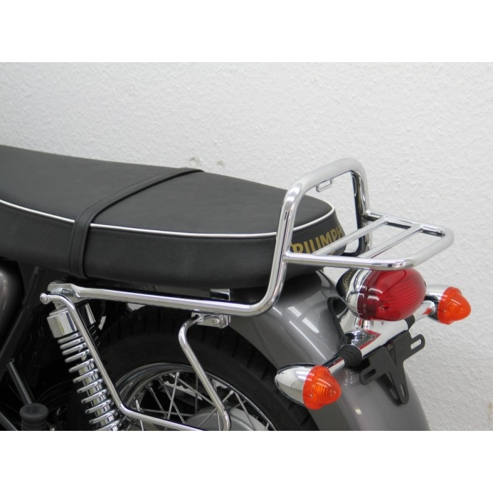 LUGGAGE RACK - BONNEVILLE/THRUXTON/SCRAMBLER 2001-2015