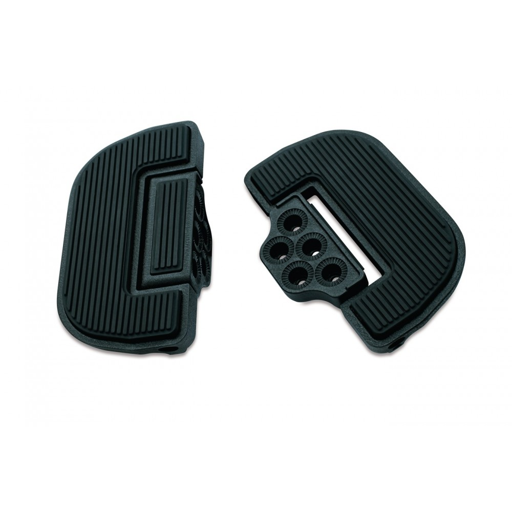 Kuryakyn Premium & Ribbed Folding Boards for Driver or Passenger - Black