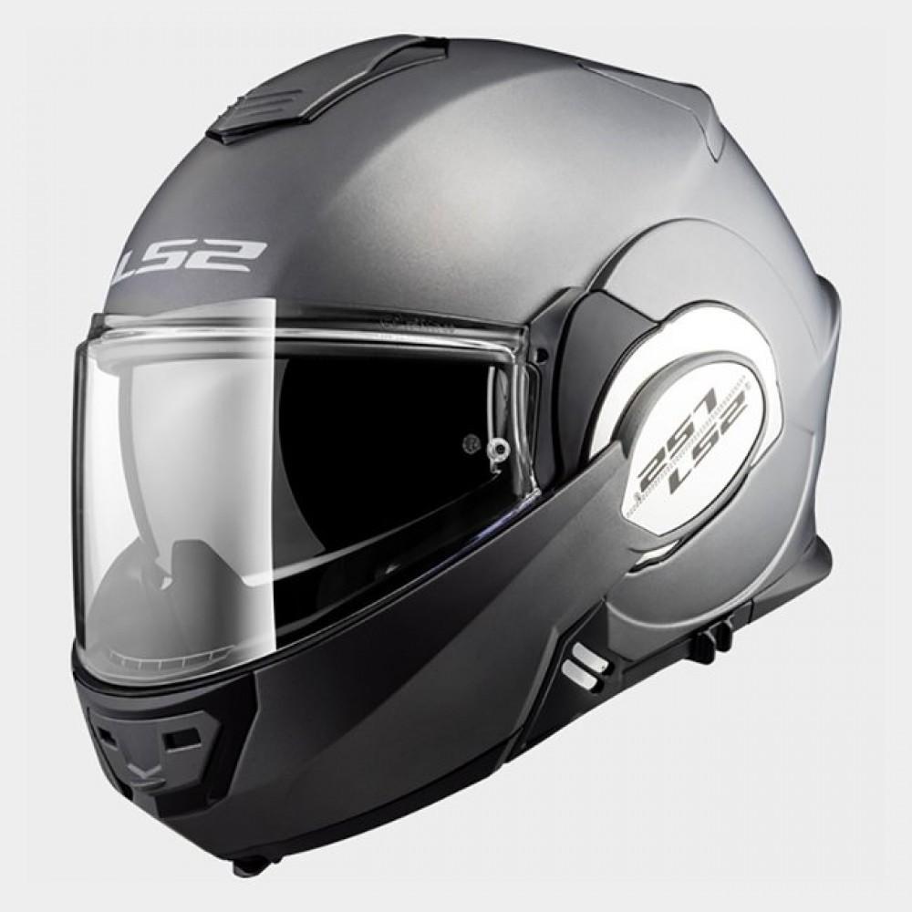 LS2 Helmets FF399 VALIANT - MATT TITANIUM