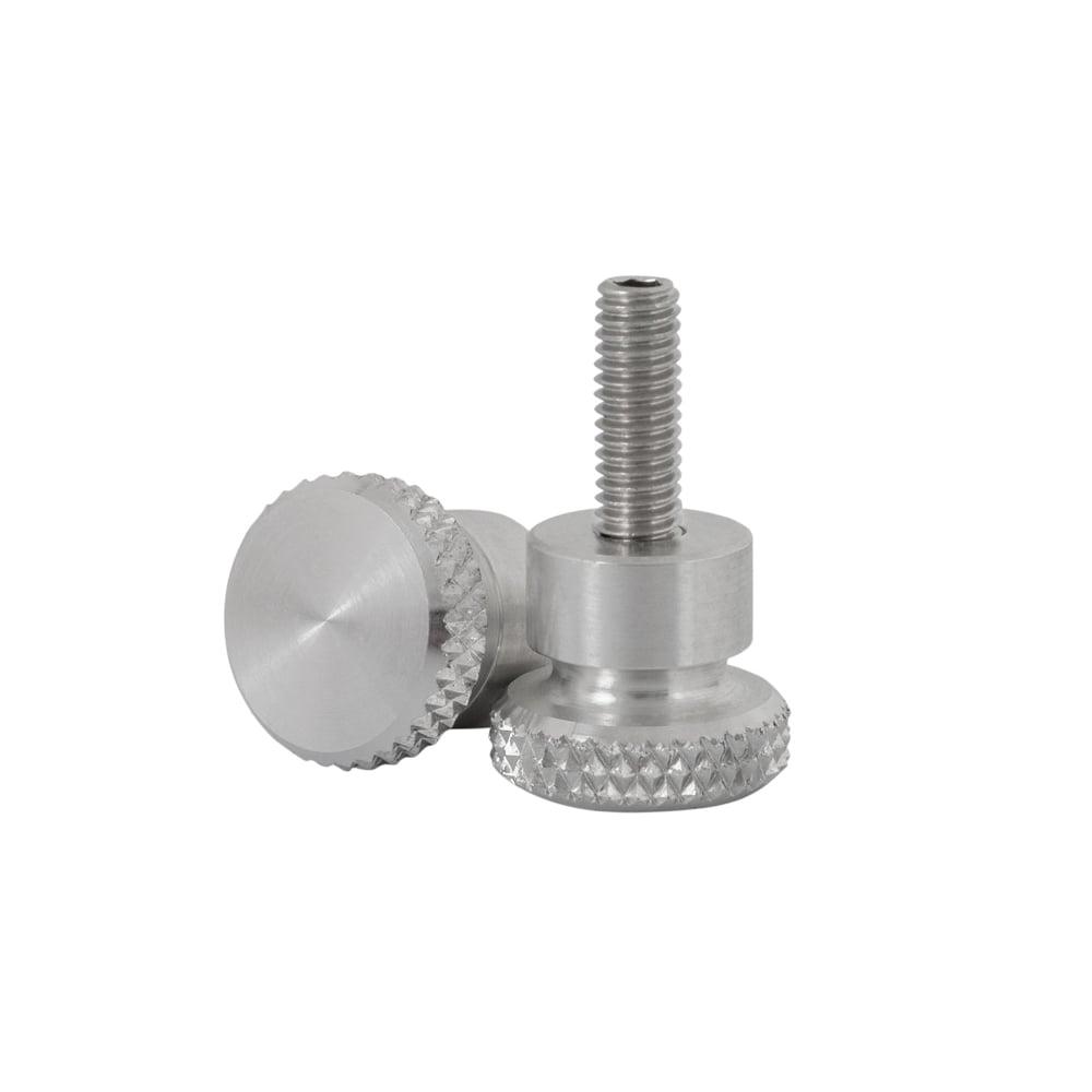 Quick Release Aluminium Side Panel Bolts - Polished - A.C Bonnevilles