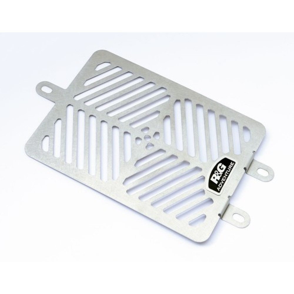STAINLESS OIL COOLER GUARD - BONNEVILLE, THRUXTON & SCRAMBLER