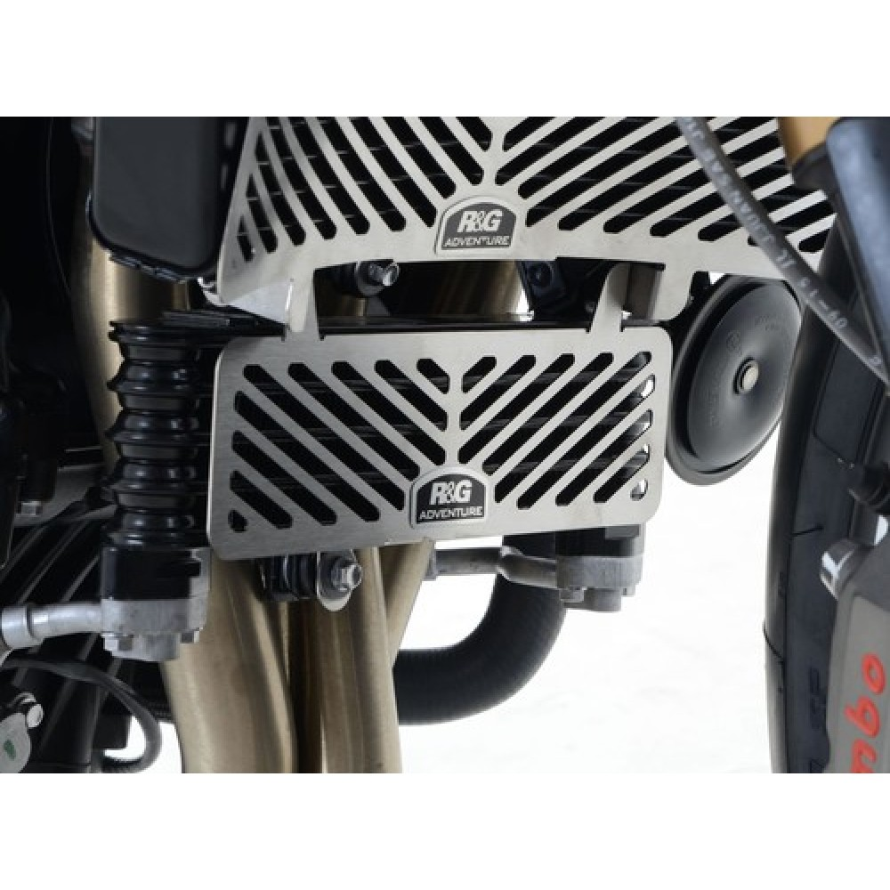 STAINLESS OIL COOLER GUARD - SPEED TRIPLE 2011>