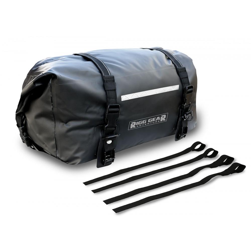 SE-3000 Adventure Deluxe Dry Bag 39 Litre – Black - UNIVERSAL