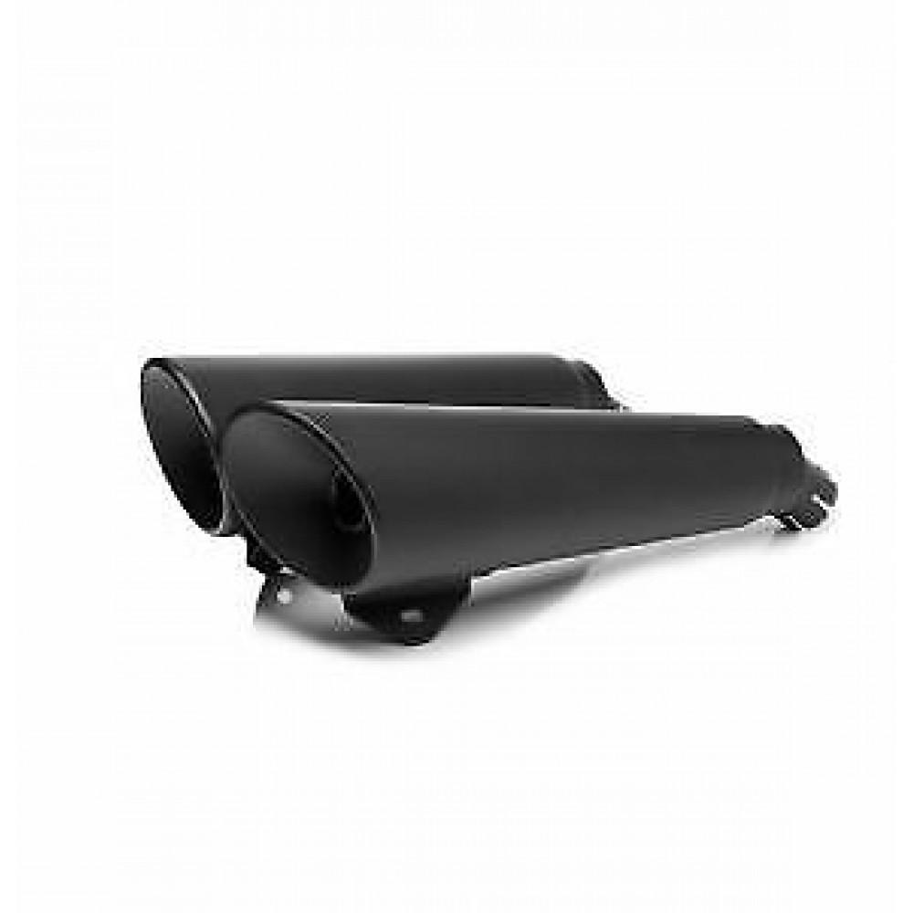 Triumph Genuine Parts BLACK SHORT HIGH FLOW EXHAUST - THUNDERBIRD 1600 & STORM
