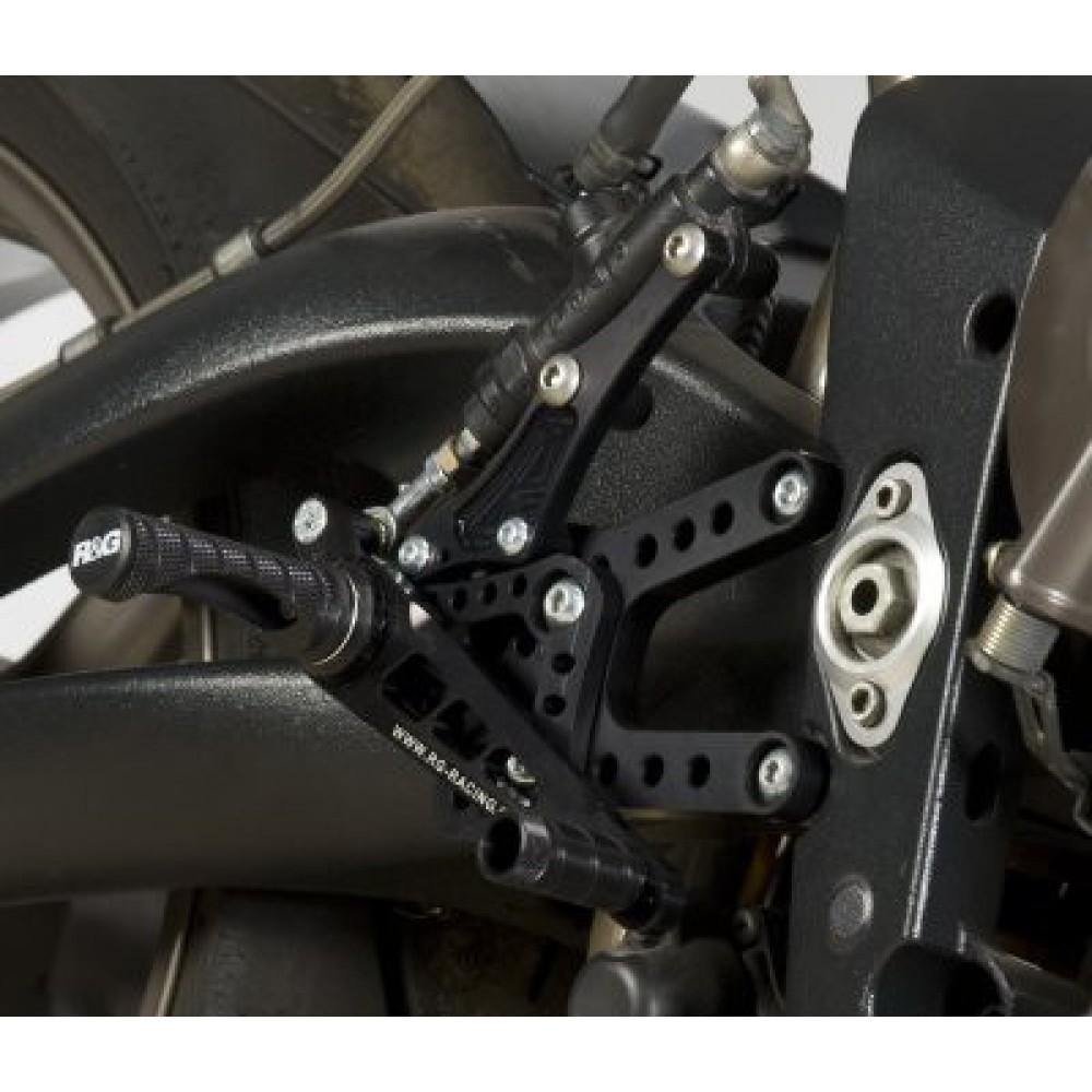 ROAD/RACE ADJUSTABLE REARSETS - DAYTONA 675 2006-2012