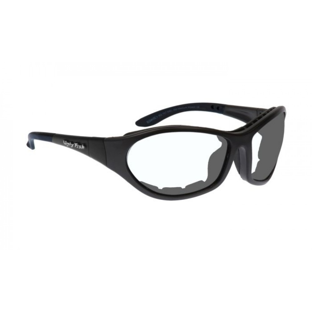 CRUIZE RS909 STANDARD MATT BLACK FRAME CLEAR LENS