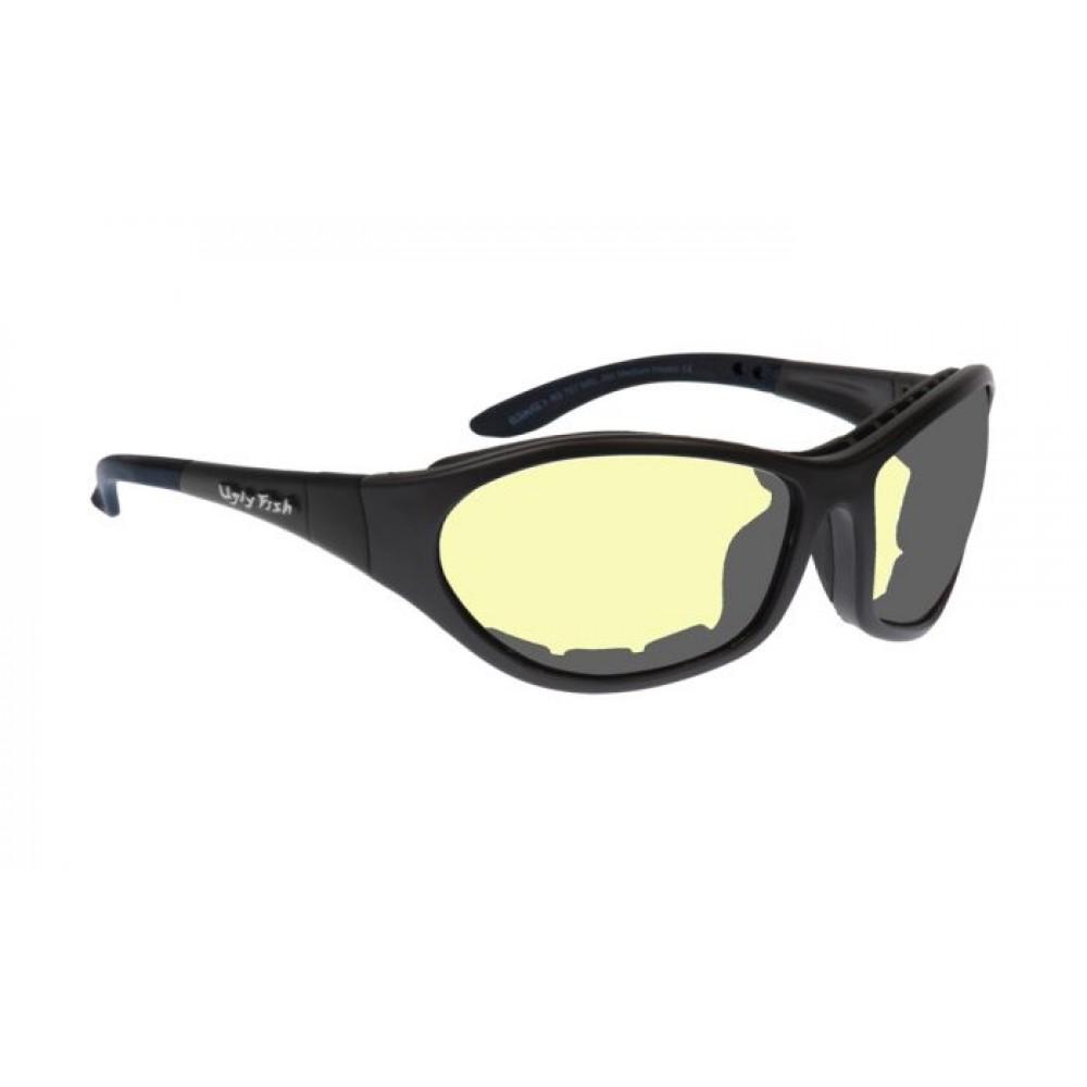 CRUIZE RS909 STANDARD MATT BLACK FRAME YELLOW LENS