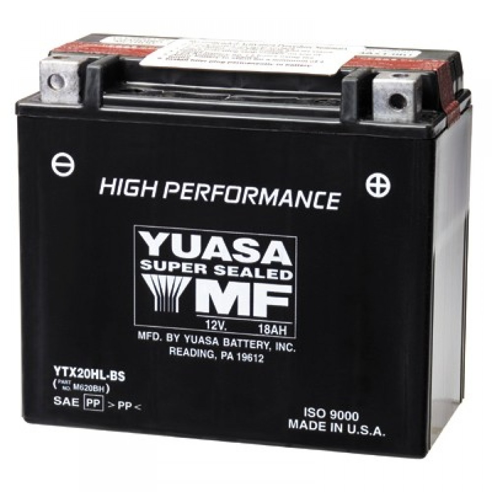 HP SUPER MAINTENANCE FREE YTX20HL-BS BATTERY