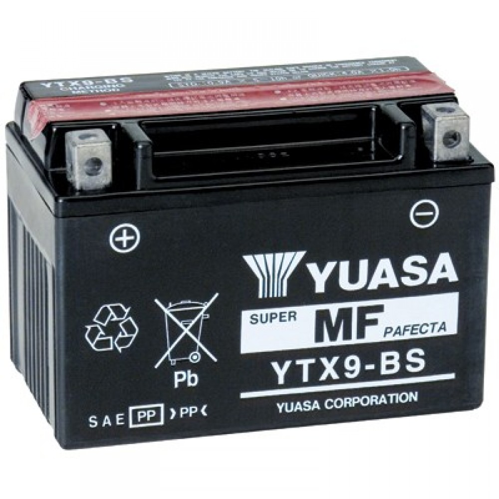 SUPER MAINTENANCE FREE - YTX9-BS BATTERY