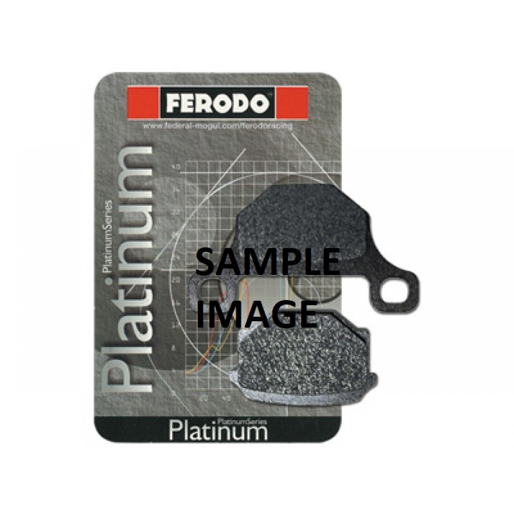 PLATINIUM REAR BRAKE PADS FDB531P