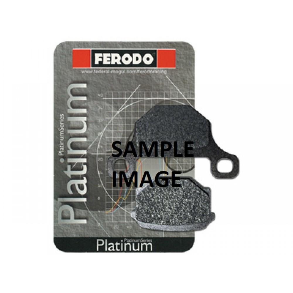 PLATINIUM FRONT BRAKE PADS FDB497P