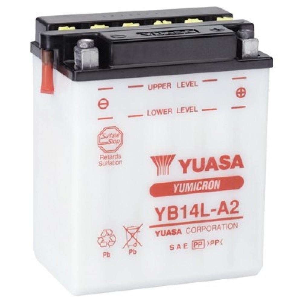 12 VOLT YUMICRON - YB14L-A2 BATTERY